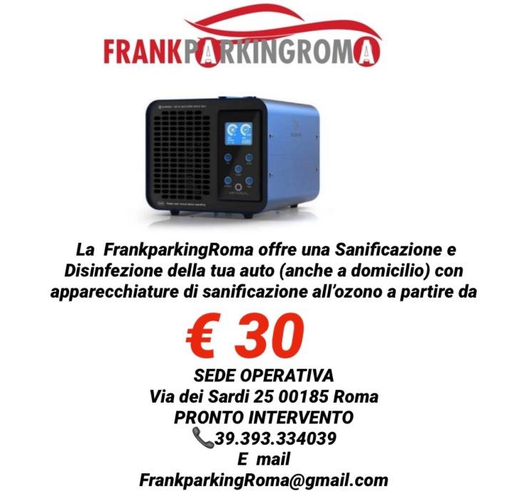 sanificazio 30 euro